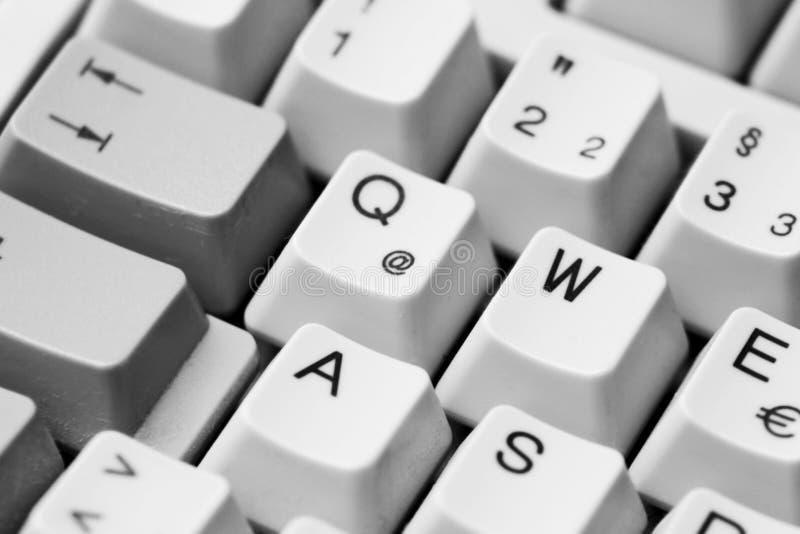 Tastaturknöpfe stockbild