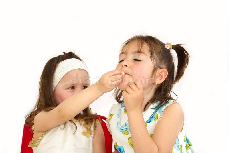 Download Taste stock image. Image of friend, preschooler, smiling - 11792141