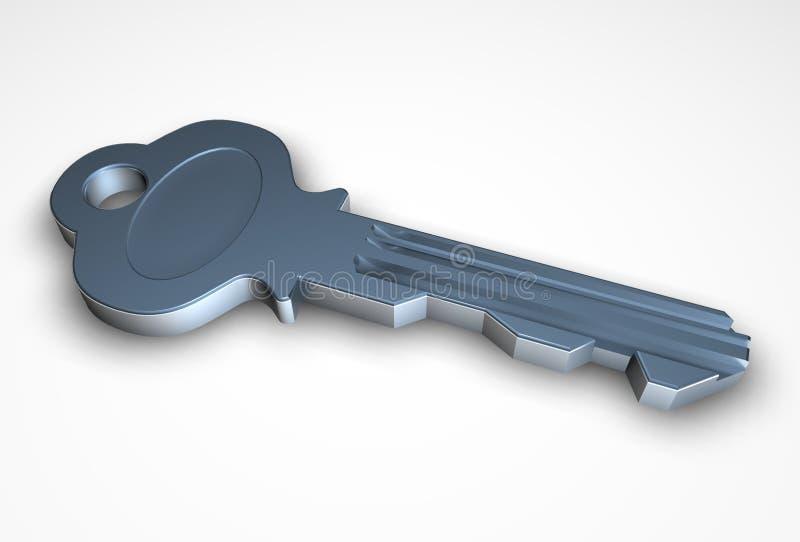 Taste 3D lizenzfreie abbildung