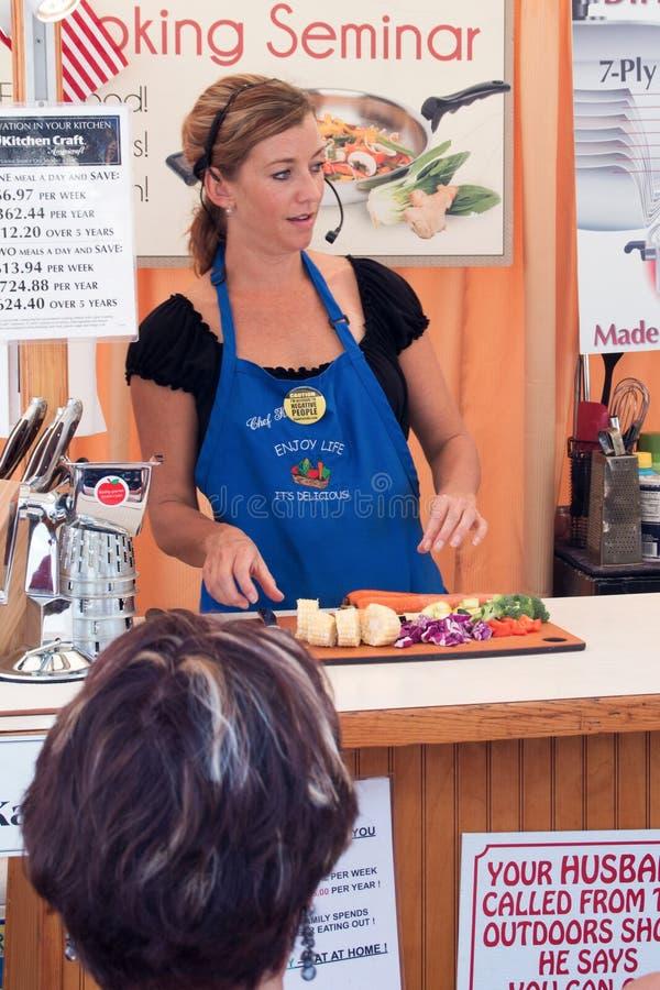 A Taste of Colorado food demos stock photos