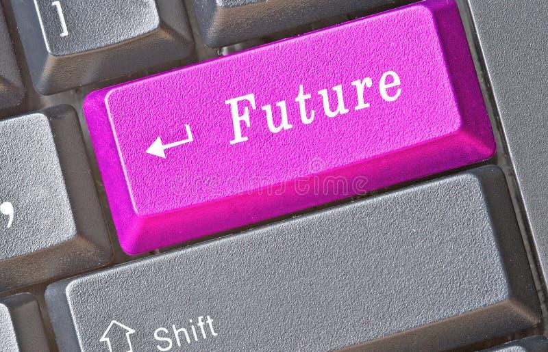 Taste für Zukunft lizenzfreie stockbilder