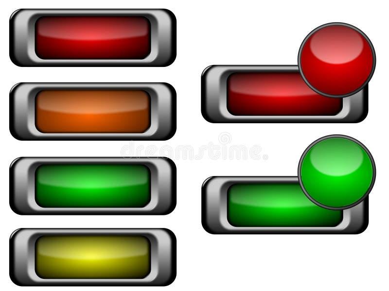 Taste getrennt vektor abbildung