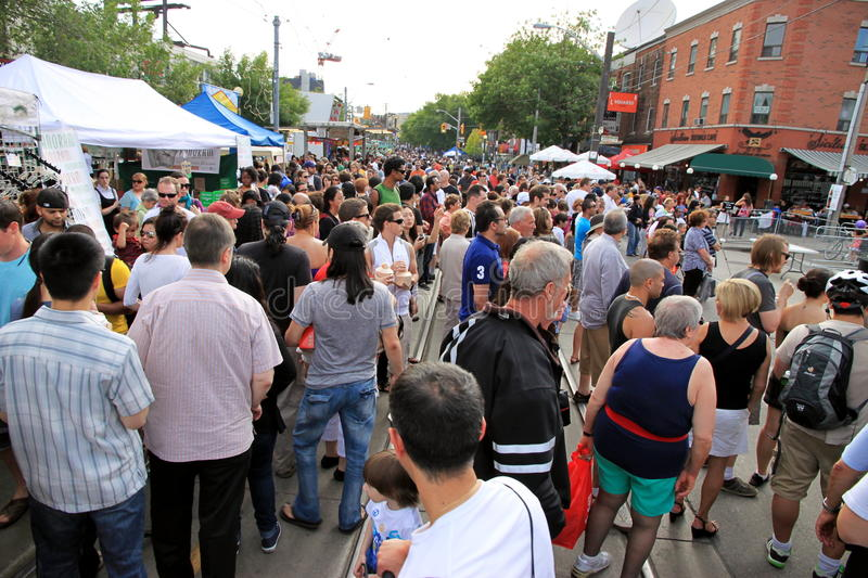 Download Taste of Little Italy editorial stock image. Image of crowd - 19969584