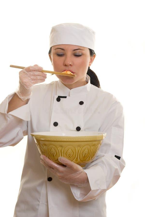 Taste Test royalty free stock photo