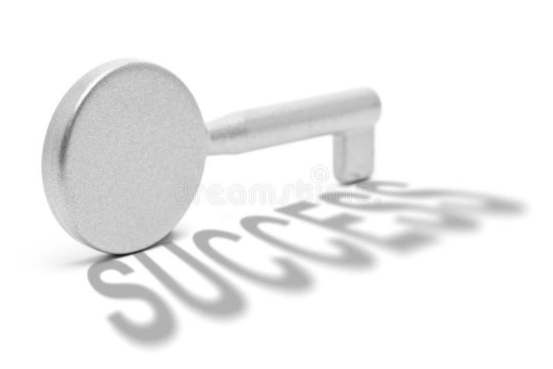 Taste zum Erfolg stockbilder