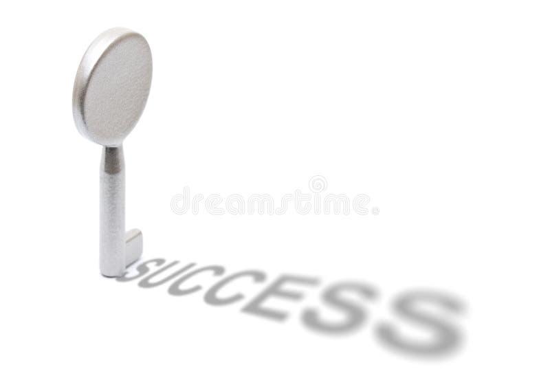Taste zum Erfolg lizenzfreies stockbild