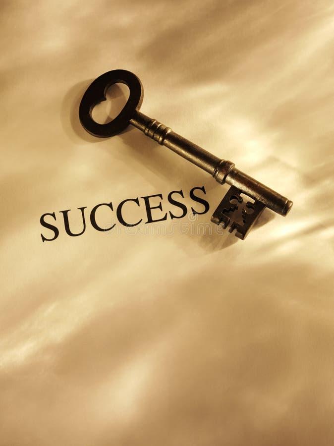 Taste zum Erfolg stockbild