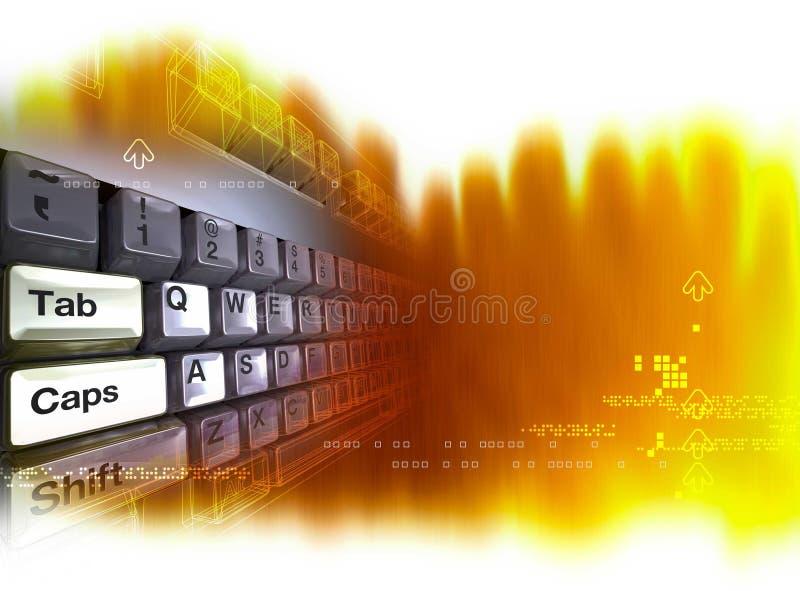 Download Tasten Herauf 3D übertragen Stock Abbildung - Illustration von enter, tastatur: 37883