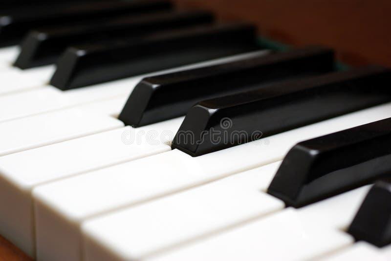 Download Tasti del piano. immagine stock. Immagine di closeup, nota - 7323005