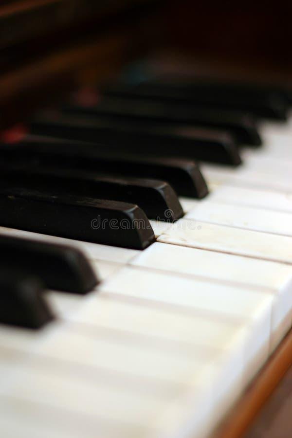 Tasti Del Piano Immagini Stock Libere da Diritti