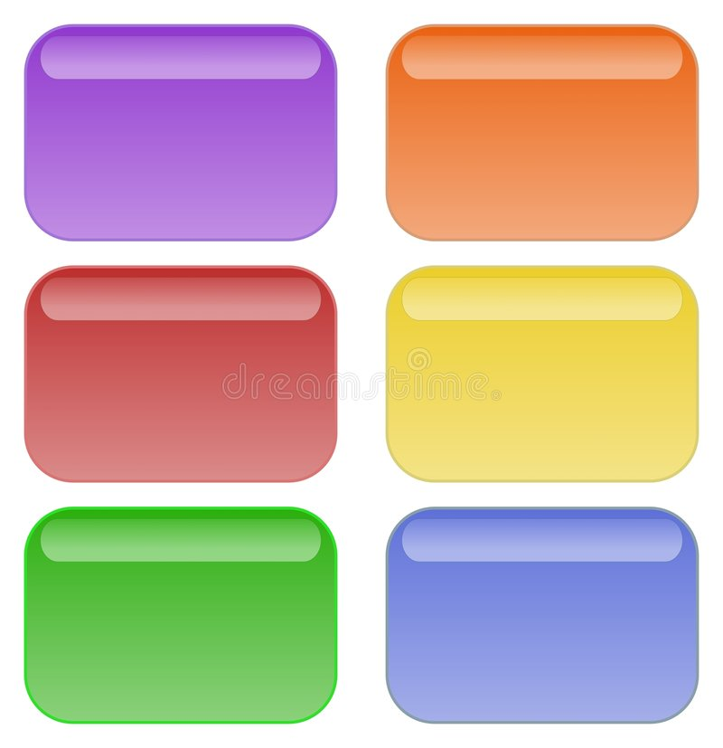 Tasti del Rainbow royalty illustrazione gratis