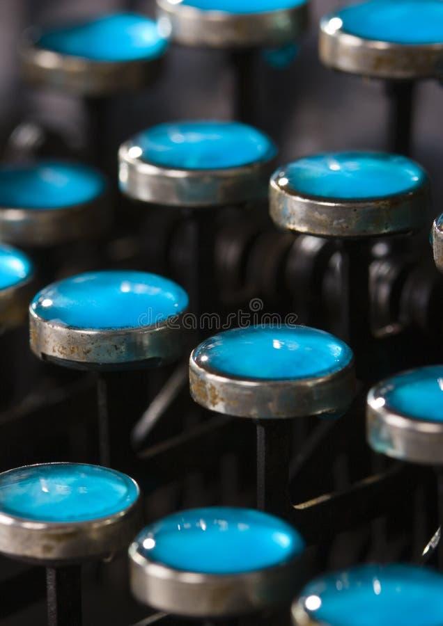 Tasti della macchina da scrivere immagine stock libera da diritti