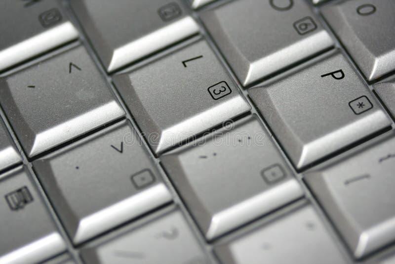 Tasti di calcolatore fotografia stock libera da diritti