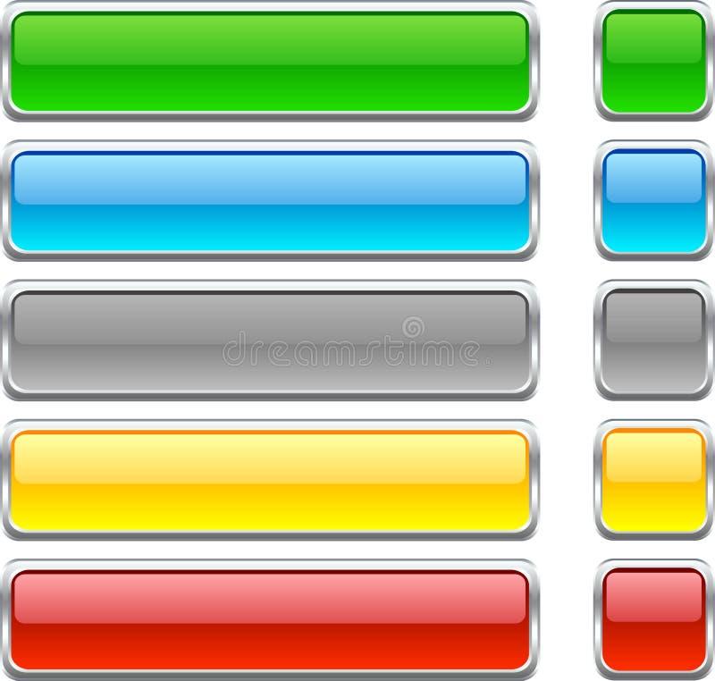 Tasti di Web. illustrazione vettoriale
