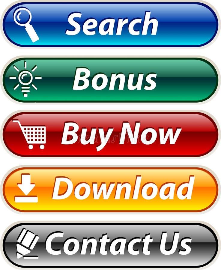 Tasti di Web. royalty illustrazione gratis