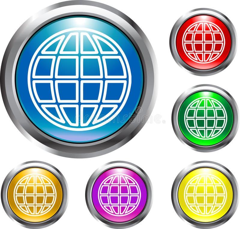 Download Tasti globali illustrazione vettoriale. Illustrazione di internet - 3875154