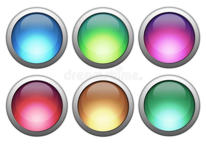 Download Tasti variopinti illustrazione di stock. Illustrazione di vetro - 3894644