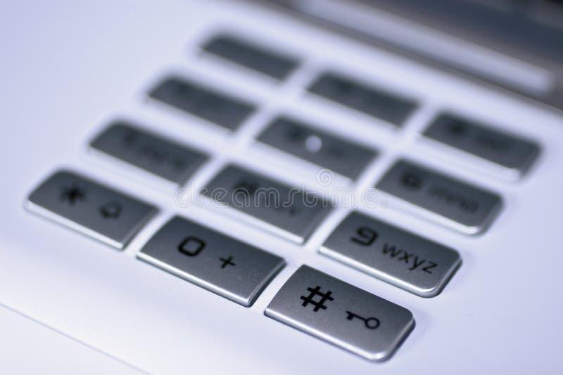 Tastiera con il tasto del hash immagini stock libere da diritti