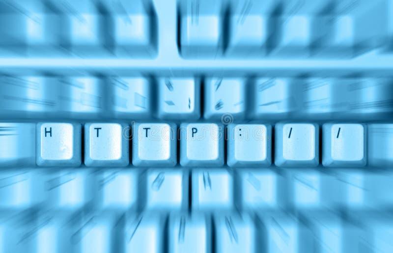 Tastiera del HTTP fotografie stock