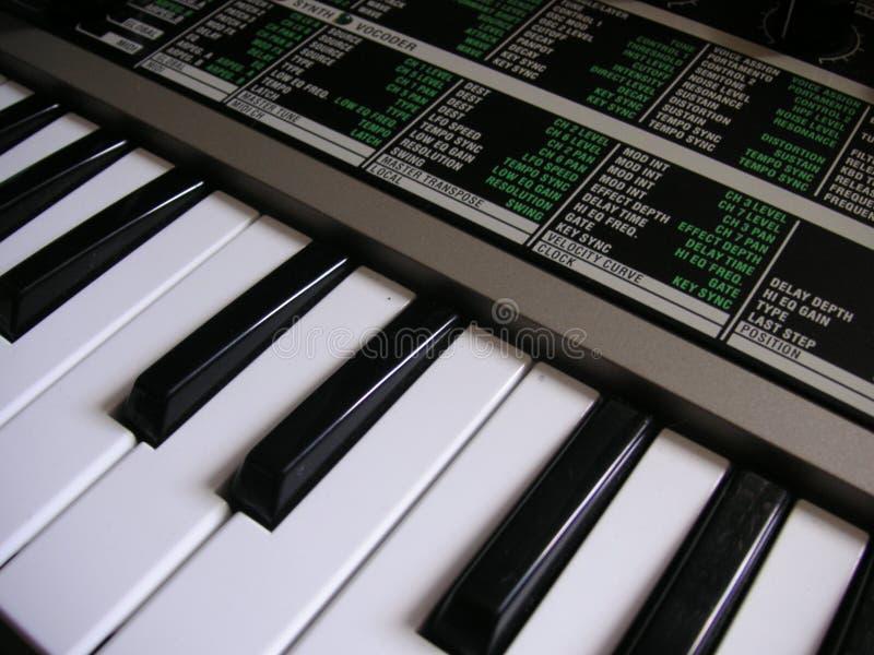 Download Tastiera Del Sintetizzatore Fotografia Stock - Immagine di sintetizzatore, tasti: 125262
