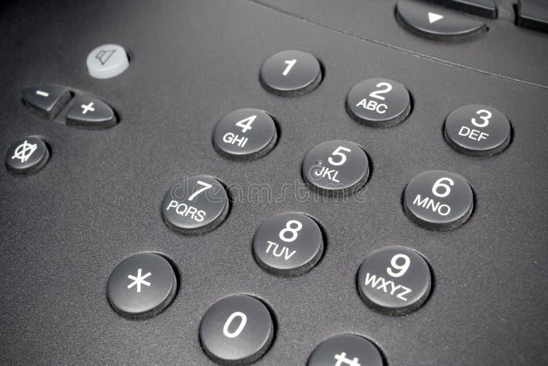 Tastiera del telefono fotografie stock