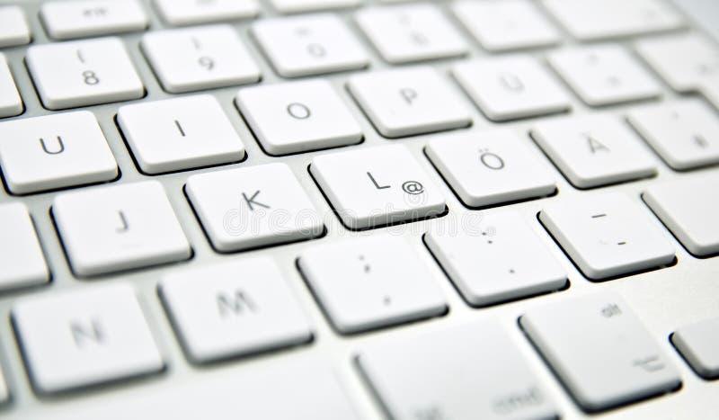 Tastiera di calcolatore immagini stock libere da diritti