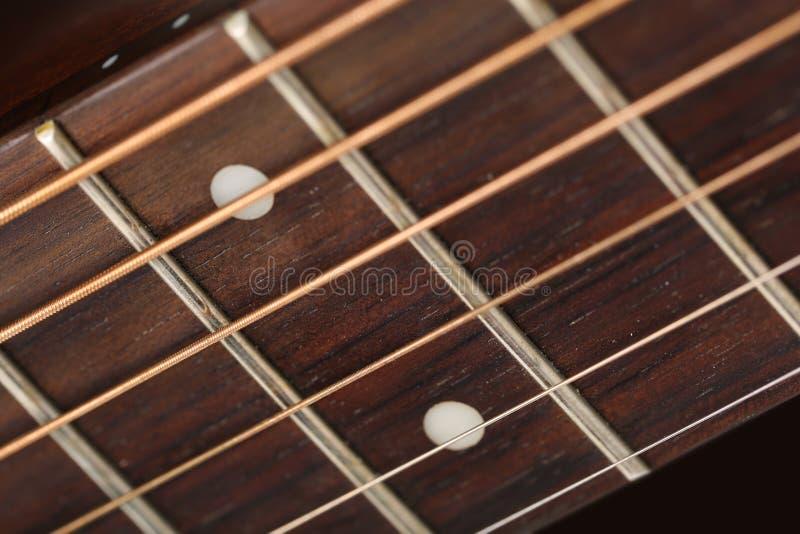Tastiera di legno vuota del palissandro immagine stock libera da diritti