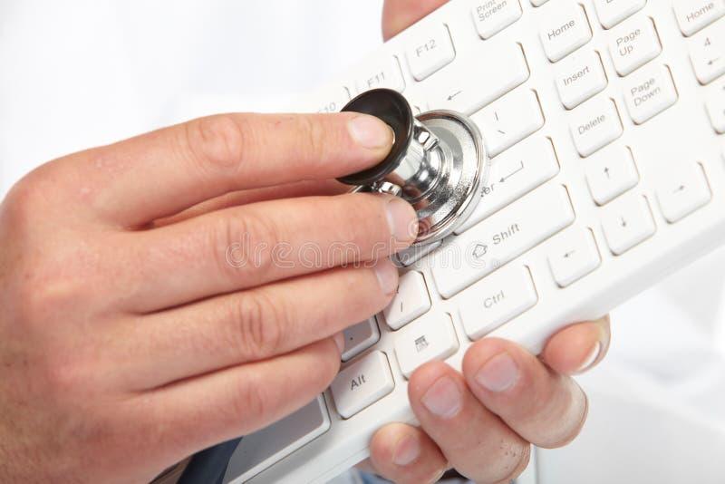 Tastiera di medico immagine stock libera da diritti