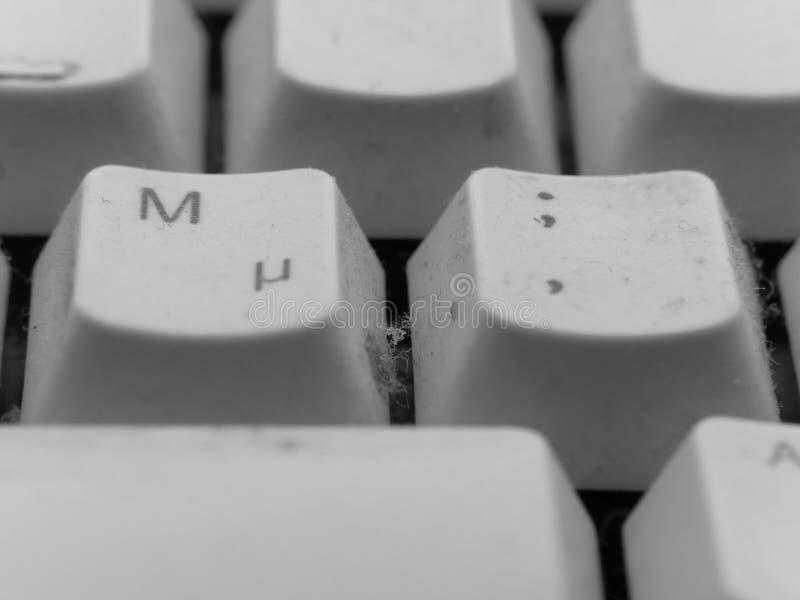 Tastiera ripugnante immagini stock