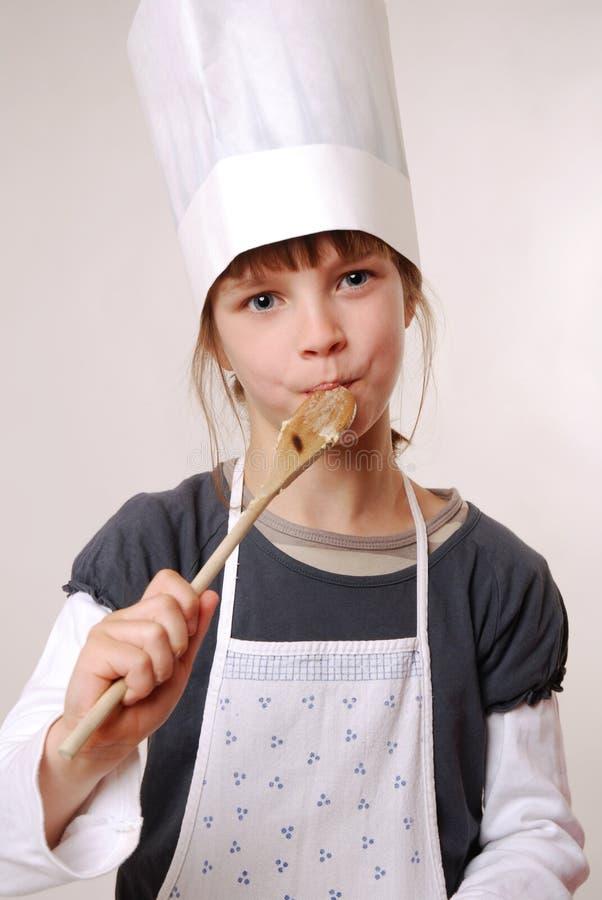 Download Tasting the batter stock photo. Image of cake, kids, dough - 15869120