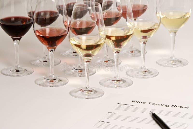 tasting wine obraz royalty free