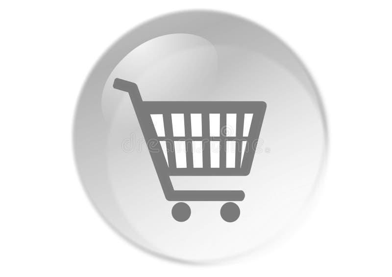 Tasto del carrello di acquisto illustrazione vettoriale