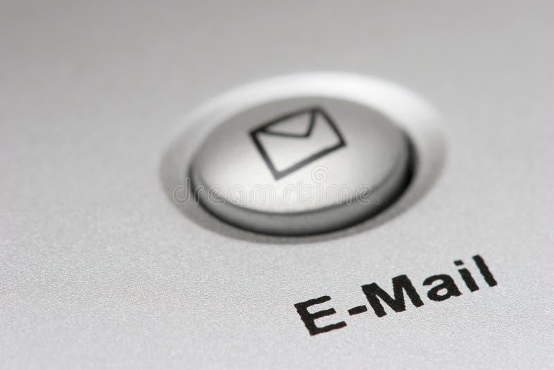 Tasto del email fotografia stock libera da diritti
