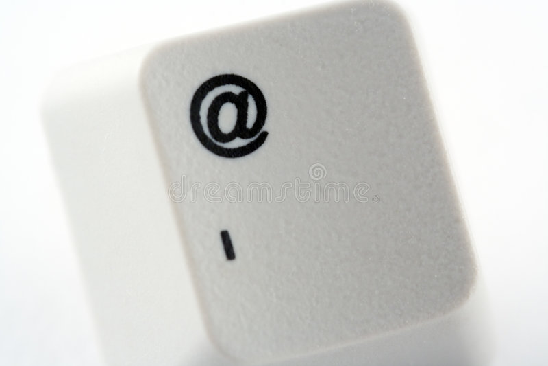 Tasto del email immagini stock libere da diritti