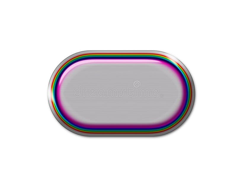 Tasto del Rainbow illustrazione di stock