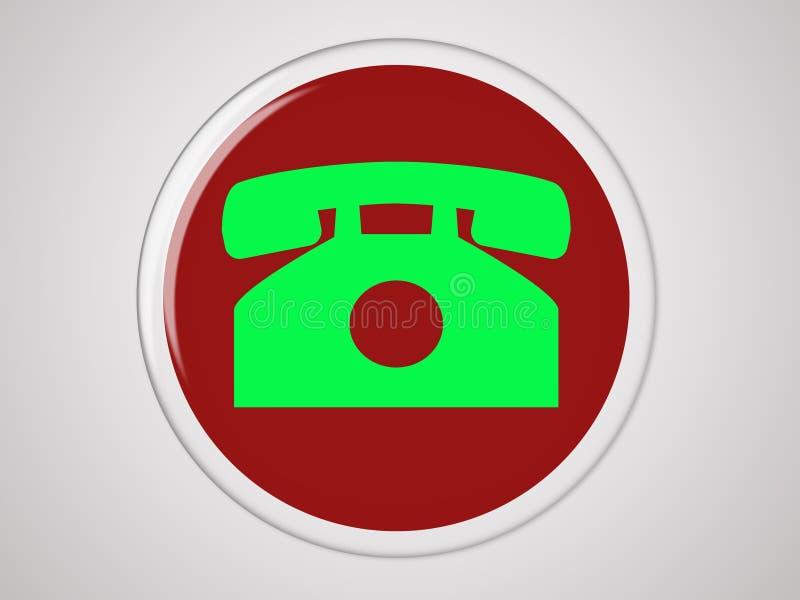 Download Tasto del telefono illustrazione di stock. Illustrazione di colleghi - 3881919