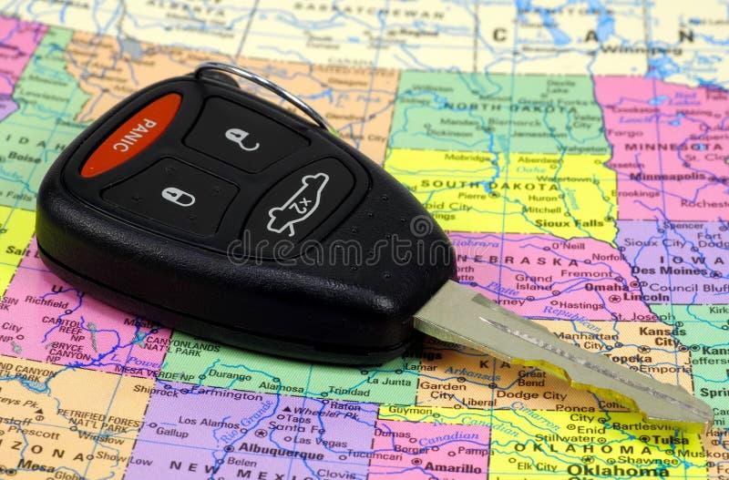 Tasto dell'automobile immagini stock libere da diritti
