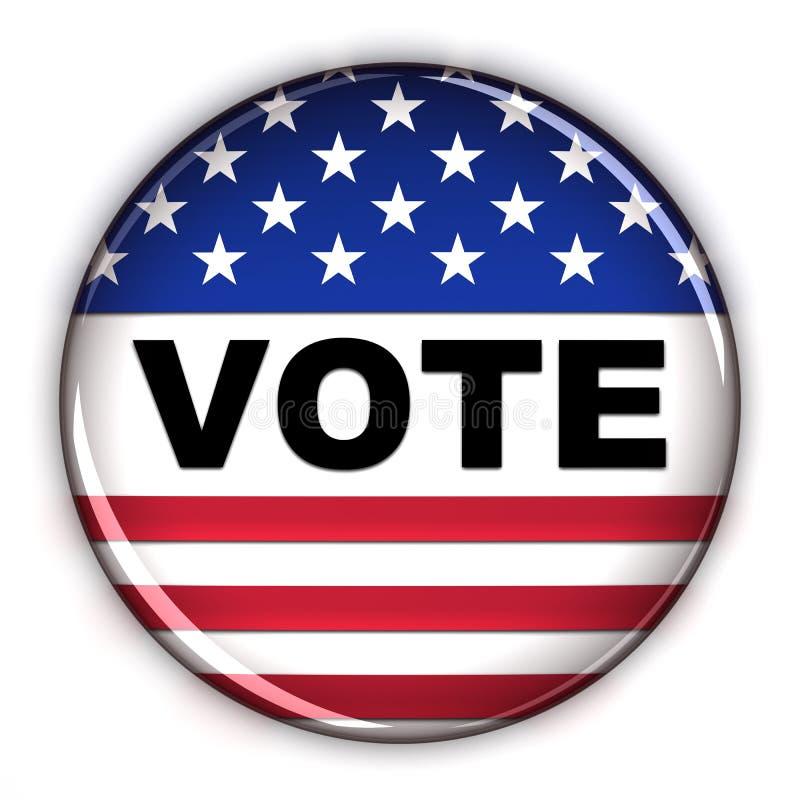 Tasto di voto illustrazione vettoriale
