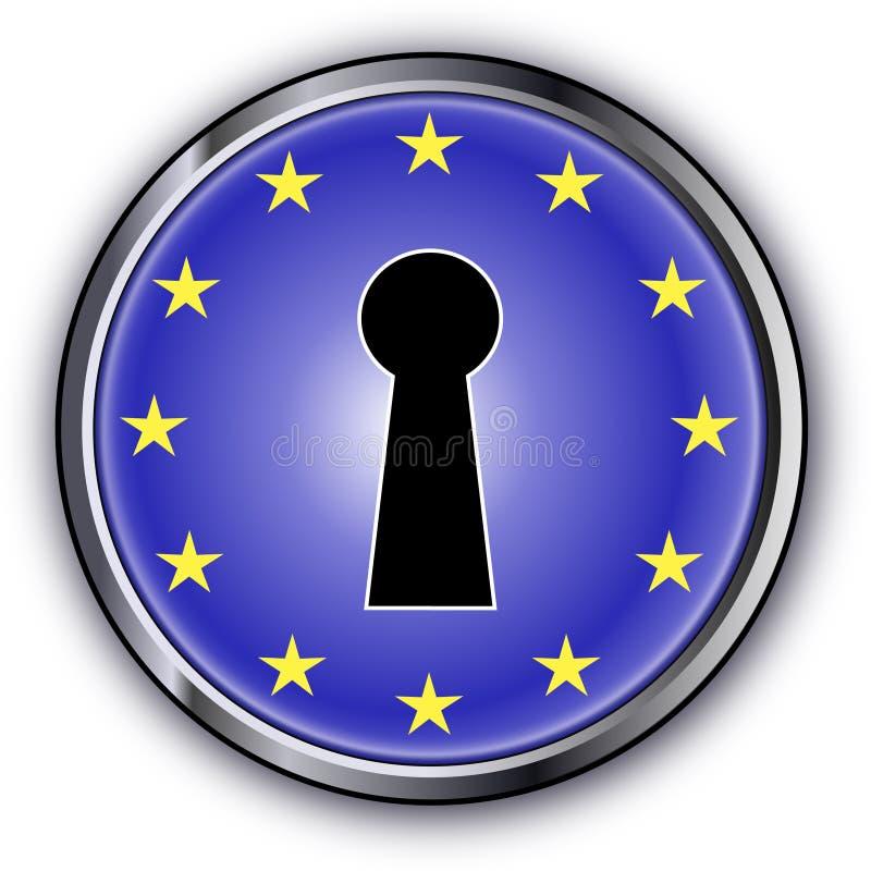 Tasto europeo fotografie stock libere da diritti