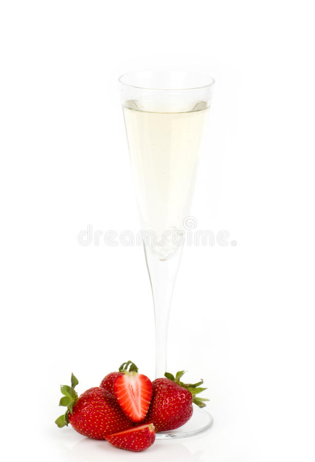 Download Tasty Alcohol Cocktail With Strawberry Stock Photo - Image: 25436840