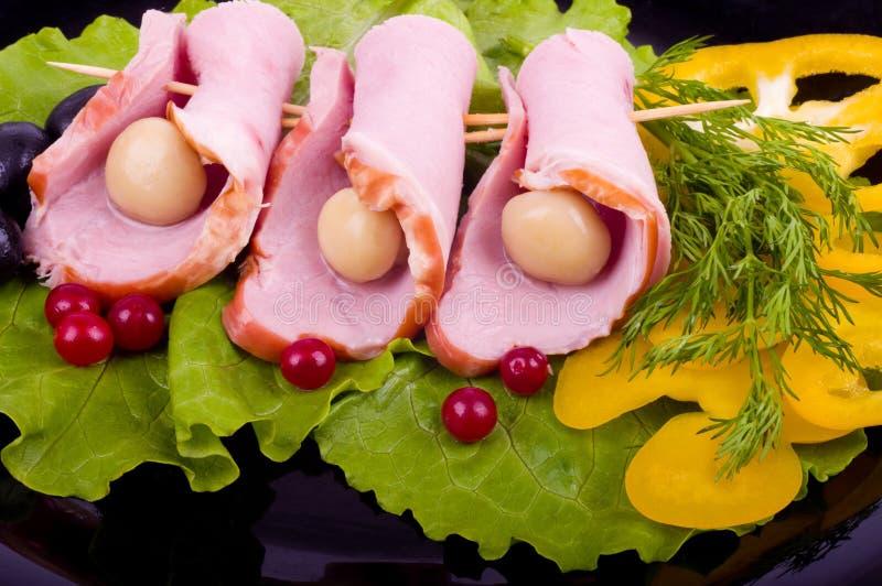 Download Tasty bacon rolls stock photo. Image of meat, breakfast - 23694674