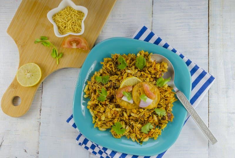Tasty bhelpuri royalty free stock image