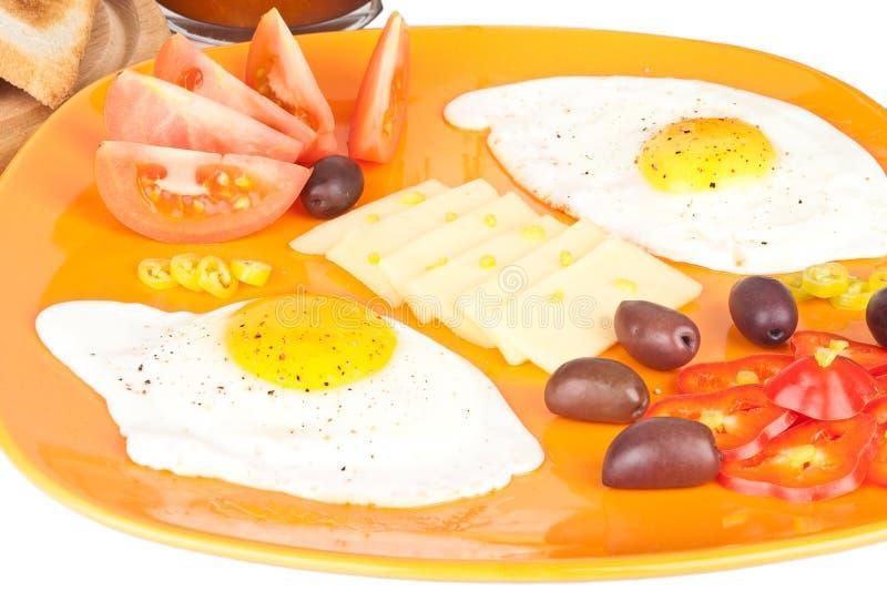 Download Tasty breakfast stock image. Image of orange, white, isolated - 17322131