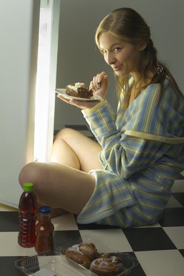 Tasty cake stock images