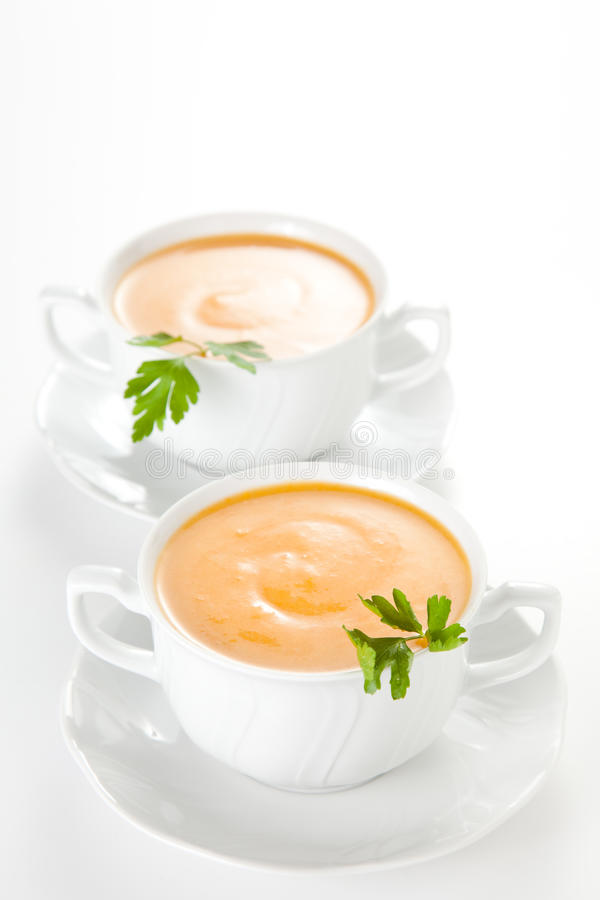 Download Tasty Carrots Puree With Parsley Stock Image - Image: 12830791