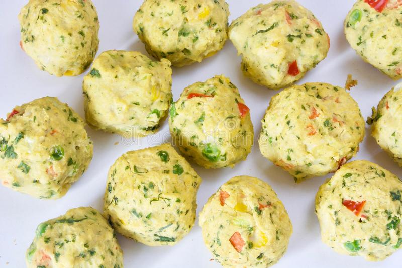 Tasty chickpea falafel balls. royalty free stock photo