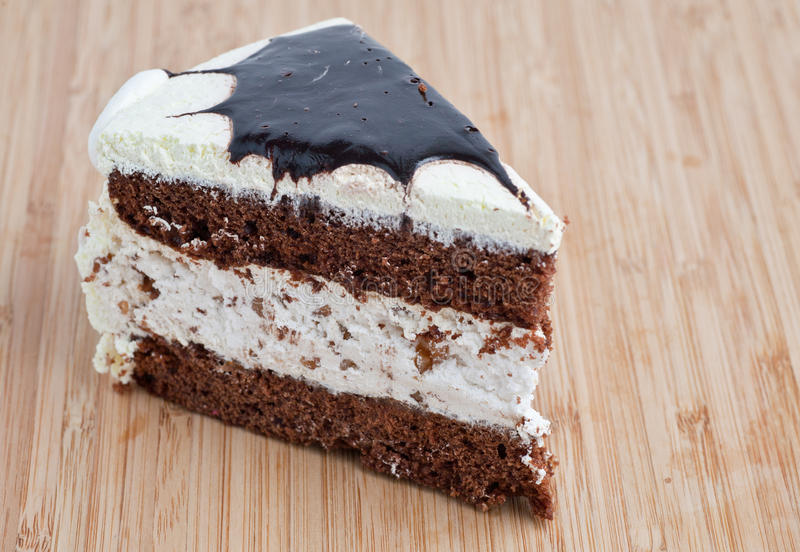 Tasty Chocolate Cake Stock Photo