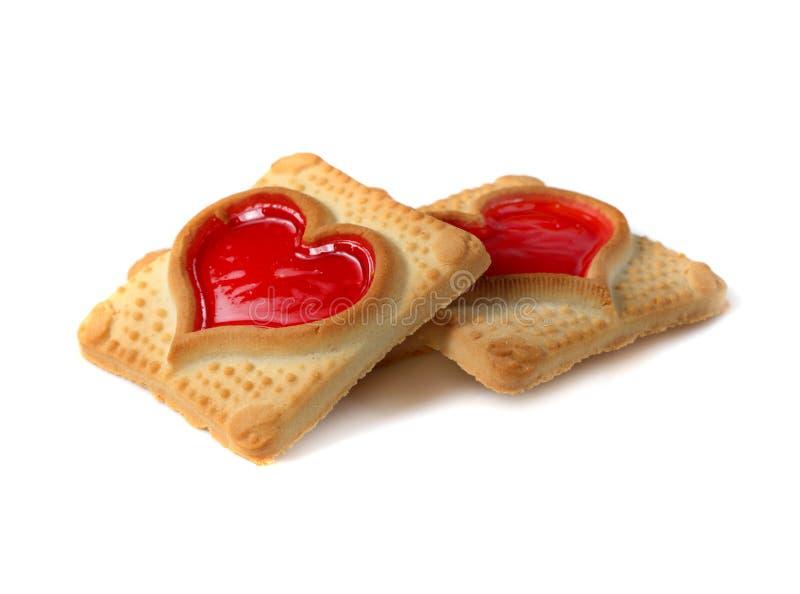 Tasty cookies stock photography