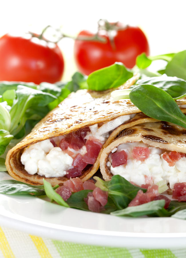 Download Tasty crepe stock image. Image of delicate, snack, food - 16919601