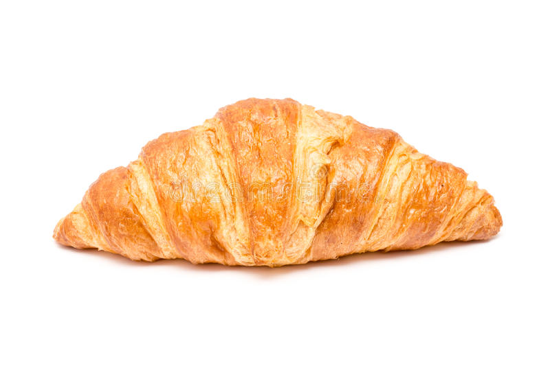 Tasty Croissant Isolated stock photography